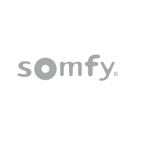 SOMFY Home Alarm + Indoor Camera + Outdoor Camera (vit)